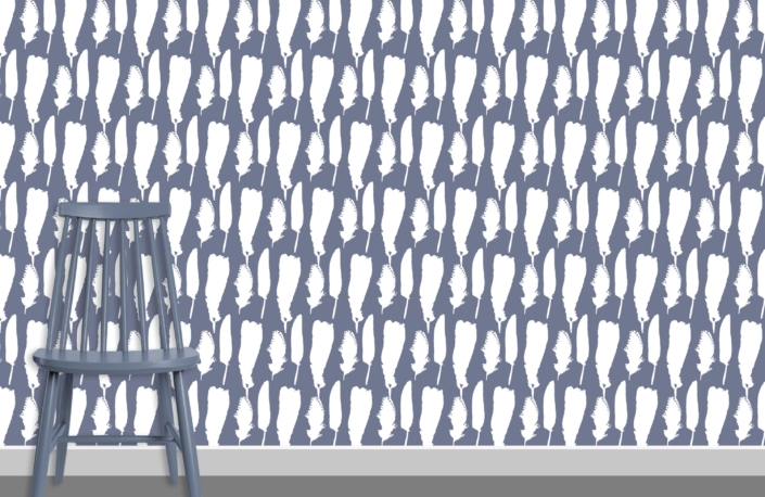 Feathers Pattern Design F5 plus chair