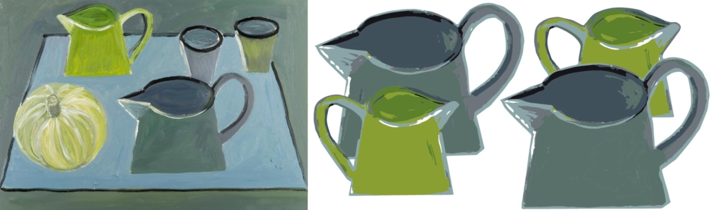 The origins of the Two Jugs pattern design