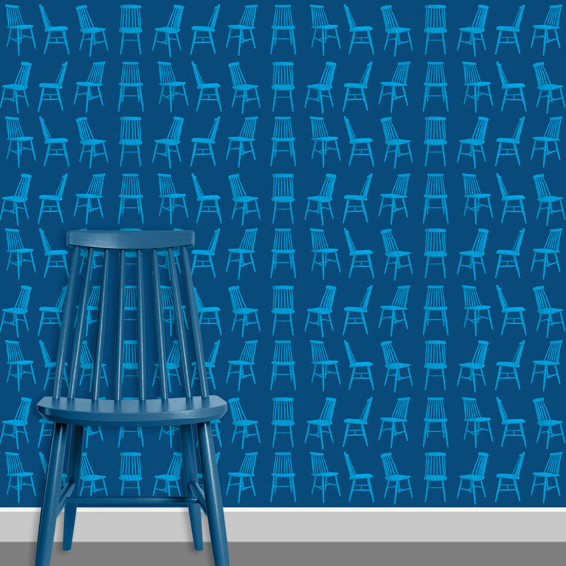 Contact Page Square - Mid Century Modern Chairs Pattern Design 7