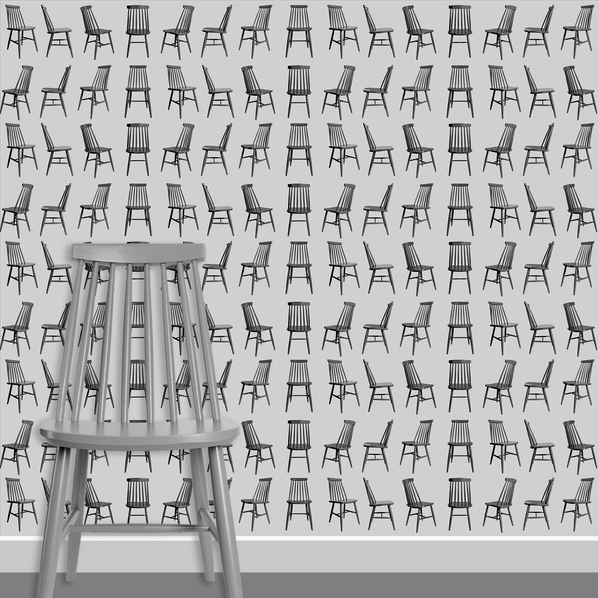 Contact Page Square - Mid Century Modern Chairs Pattern Design 9