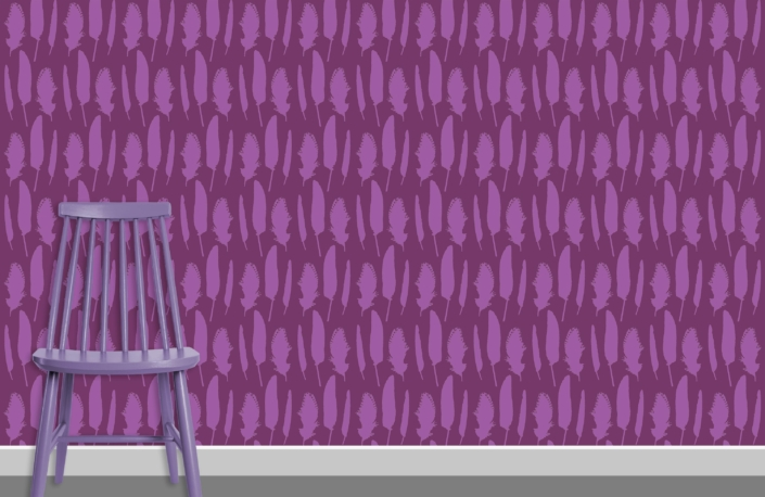 Feathers Pattern Design C 29 14 plus chair