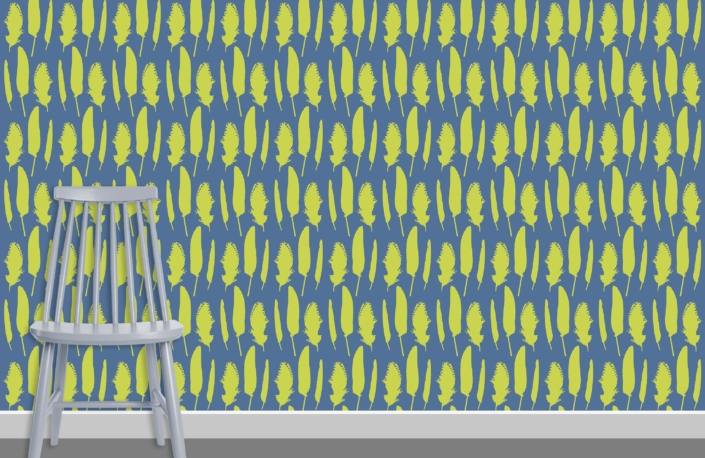 Feathers Pattern Design C 35 12 plus chair