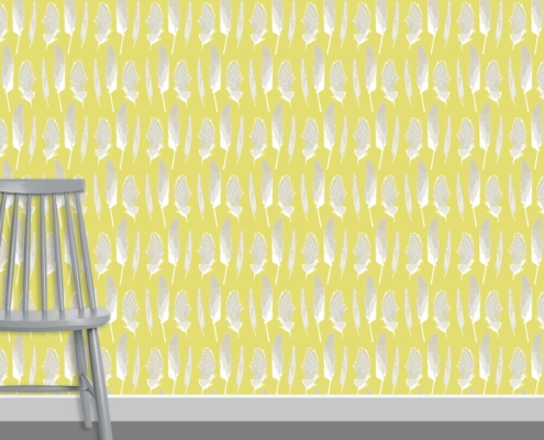 Feathers Pattern Design D 1 7
