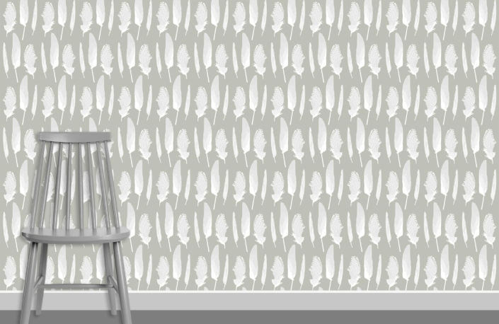 Feathers Pattern Design D 8 5 plus chair
