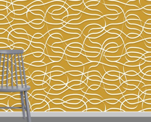 Ribbons Pattern Design A-0-15