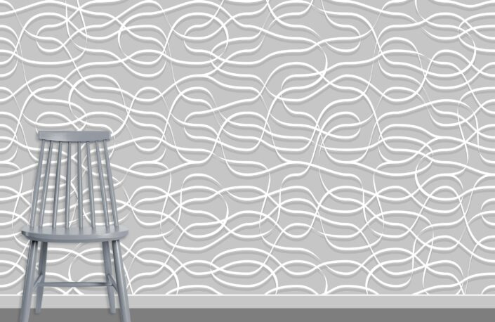 Ribbons Pattern Design A-0-2