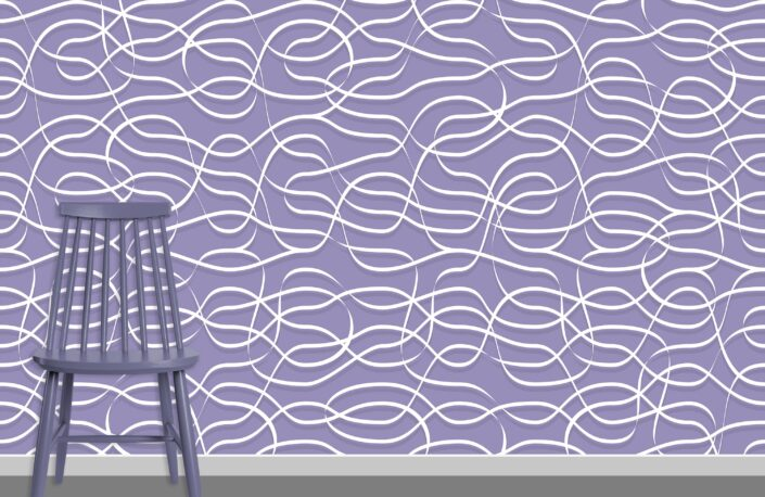 Ribbons Pattern Design A-0-37