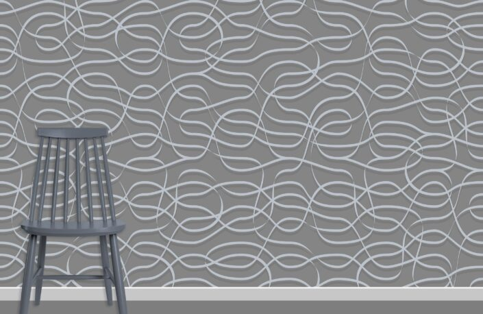 Ribbons Pattern Design A-11-20