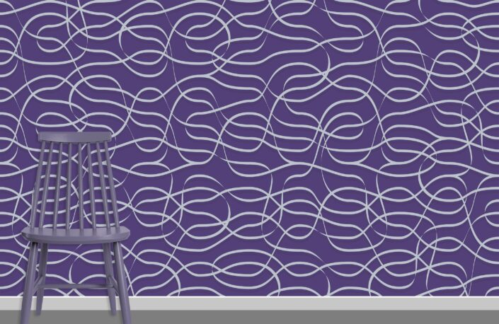 Ribbons Pattern Design A-11-22