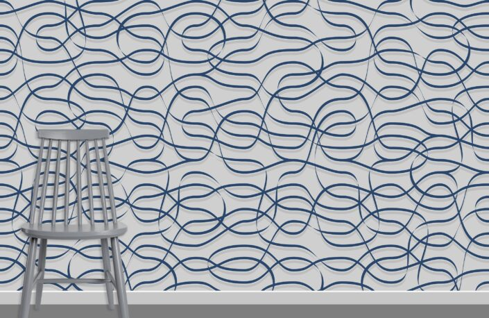 Ribbons Pattern Design A-12-8