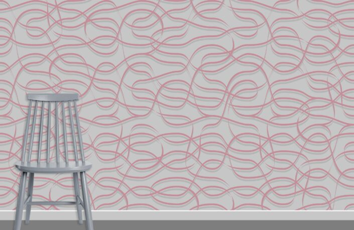 Ribbons Pattern Design A-16-2