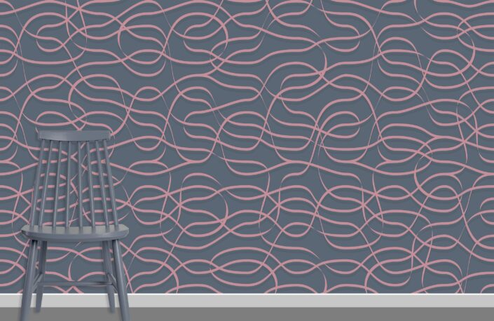 Ribbons Pattern Design A-16-9