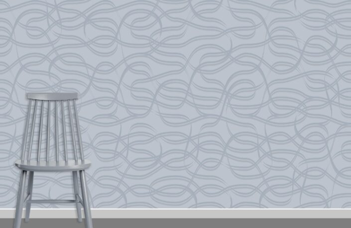 Ribbons Pattern Design A-18-11