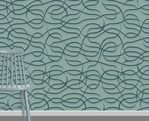 Ribbons Pattern Design A-19-4
