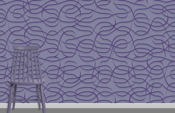 Ribbons Pattern Design A-22-23