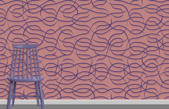 Ribbons Pattern Design A-22-30