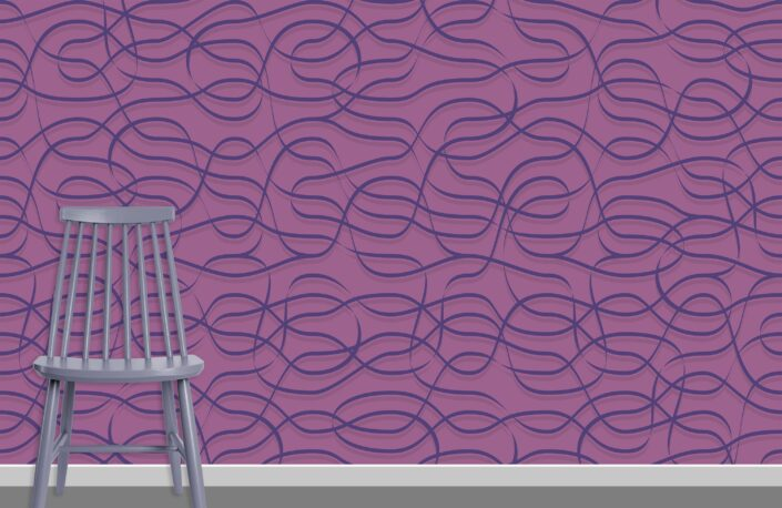 Ribbons Pattern Design A-22-32