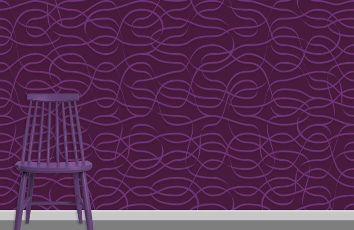 Ribbons Pattern Design A-29-14