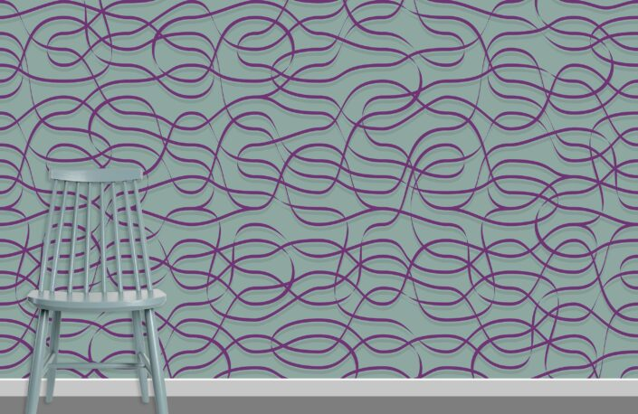 Ribbons Pattern Design A-29-4