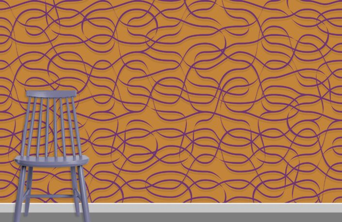 Ribbons Pattern Design A-29-6