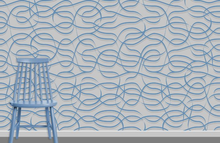 Ribbons Pattern Design A-31-2