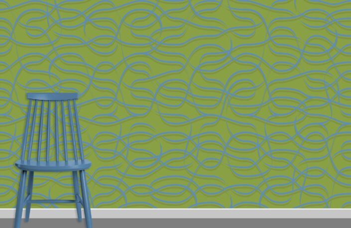 Ribbons Pattern Design A-31-26