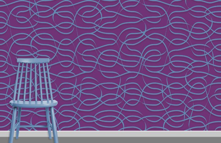 Ribbons Pattern Design A-31-29