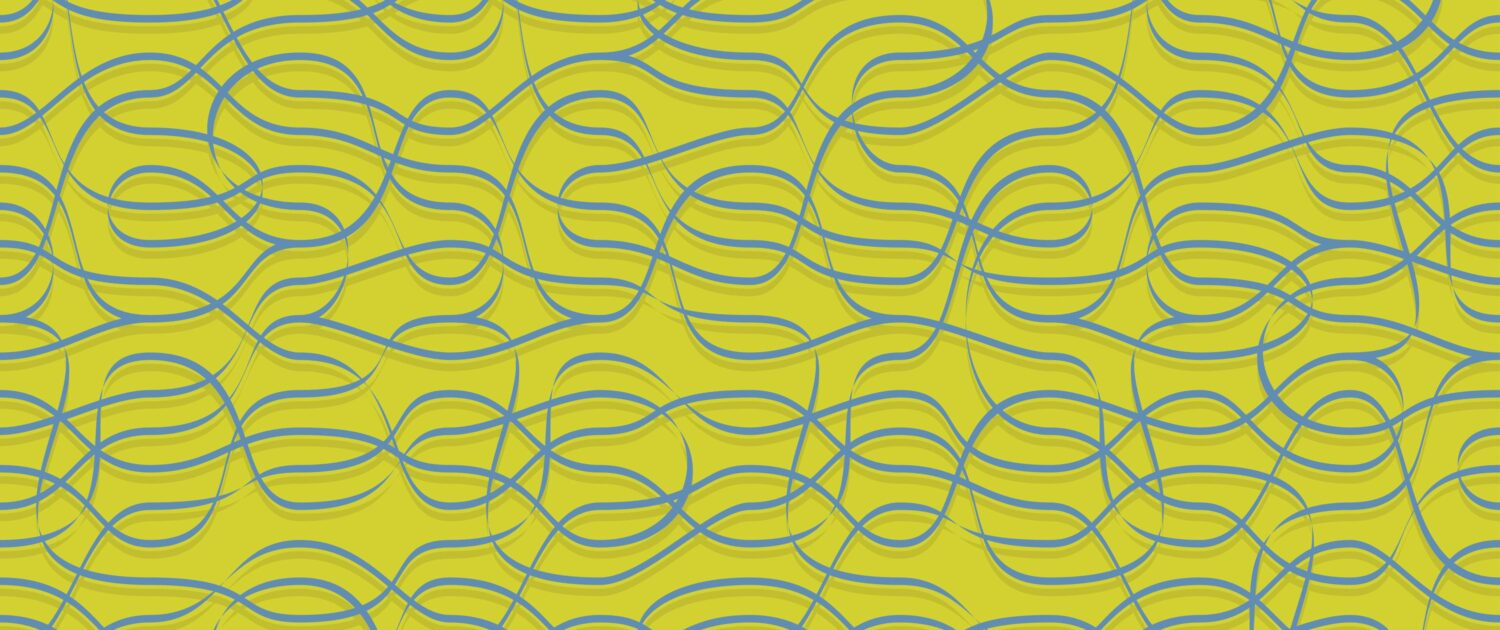 Ribbons Pattern Design A-31-39 no chair