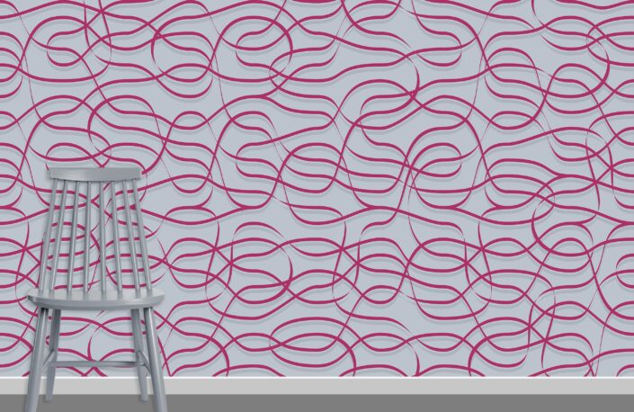 Ribbons Pattern Design A-34-11