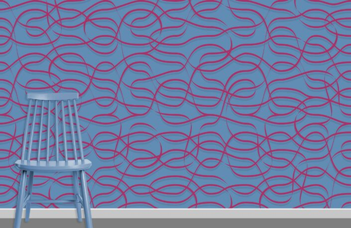 Ribbons Pattern Design A-34-31
