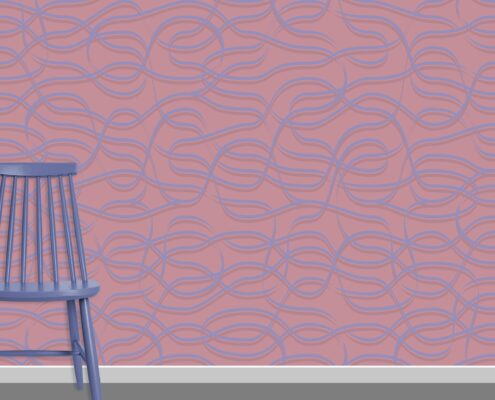 Ribbons Pattern Design A-37-16