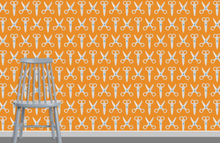 Scissors Pattern Design E 31 2 6 plus chair