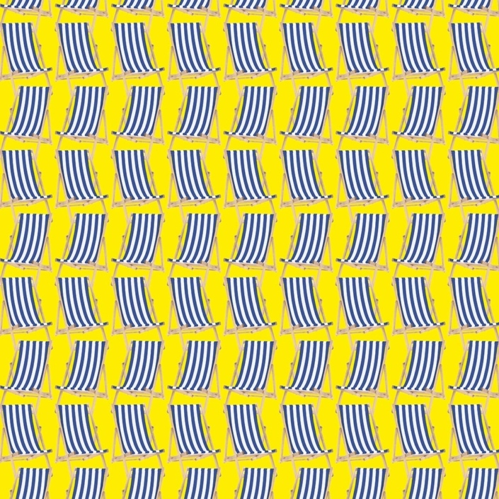 Deck Chairs Pattern Development C – a different deckchair tightly packed, but a bit boring.