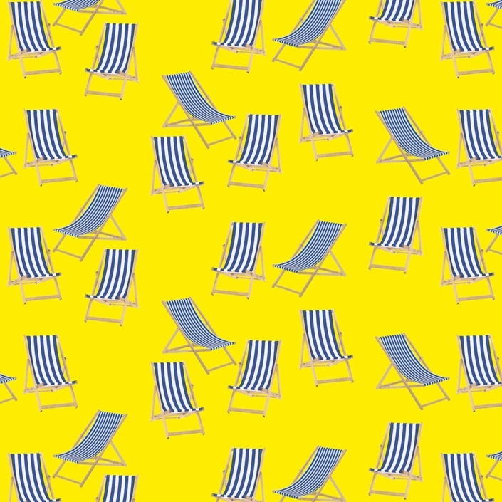 Deck Chairs Pattern Development G – revised spacing feels more even and naturally random.