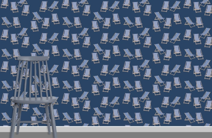 Deck Chairs Surface Pattern Design G12 plus chair