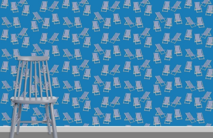 Deck Chairs Surface Pattern Design G41 plus chair