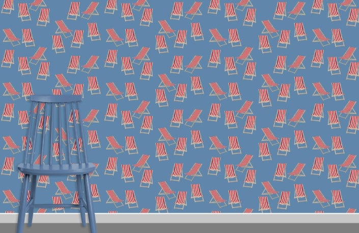 Deck Chairs Surface Pattern Design H31 plus chair