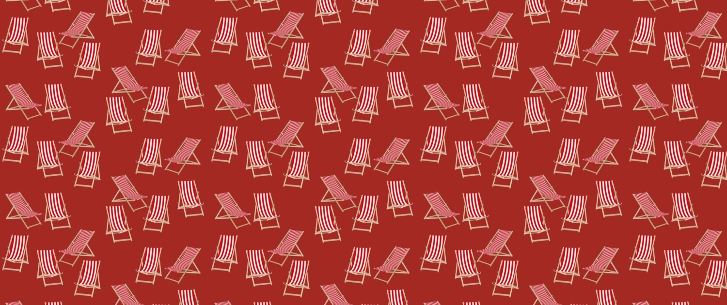 Deck Chairs Surface Pattern Design H36