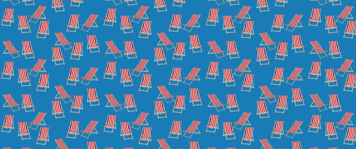 Deck Chairs Surface Pattern Design H41