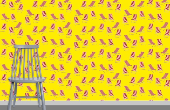 Deck Chairs Surface Pattern Design H42 plus chair