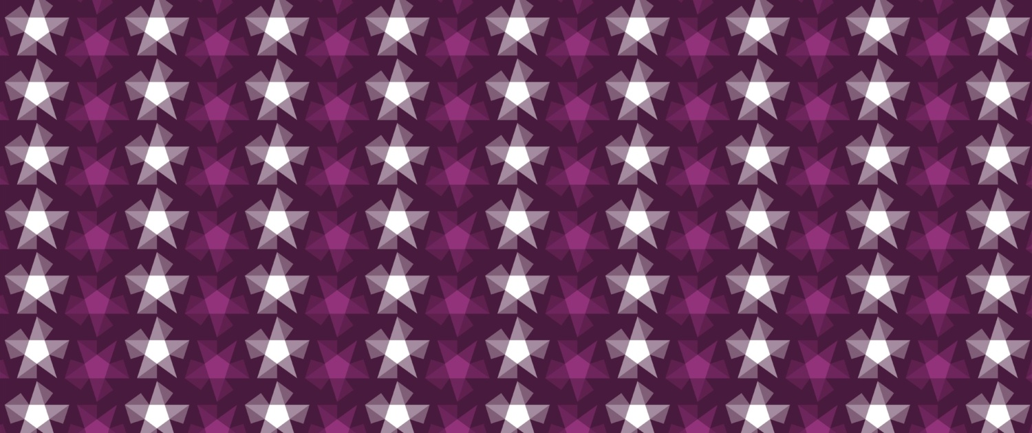 Stripy Stars Surface Pattern Design F 14
