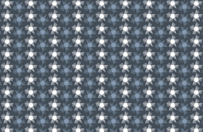 Stripy Stars Surface Pattern Design F 21