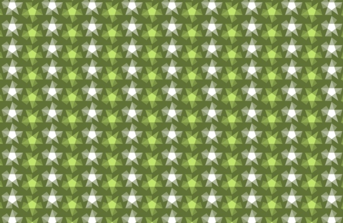 Stripy Stars Surface Pattern Design F 24