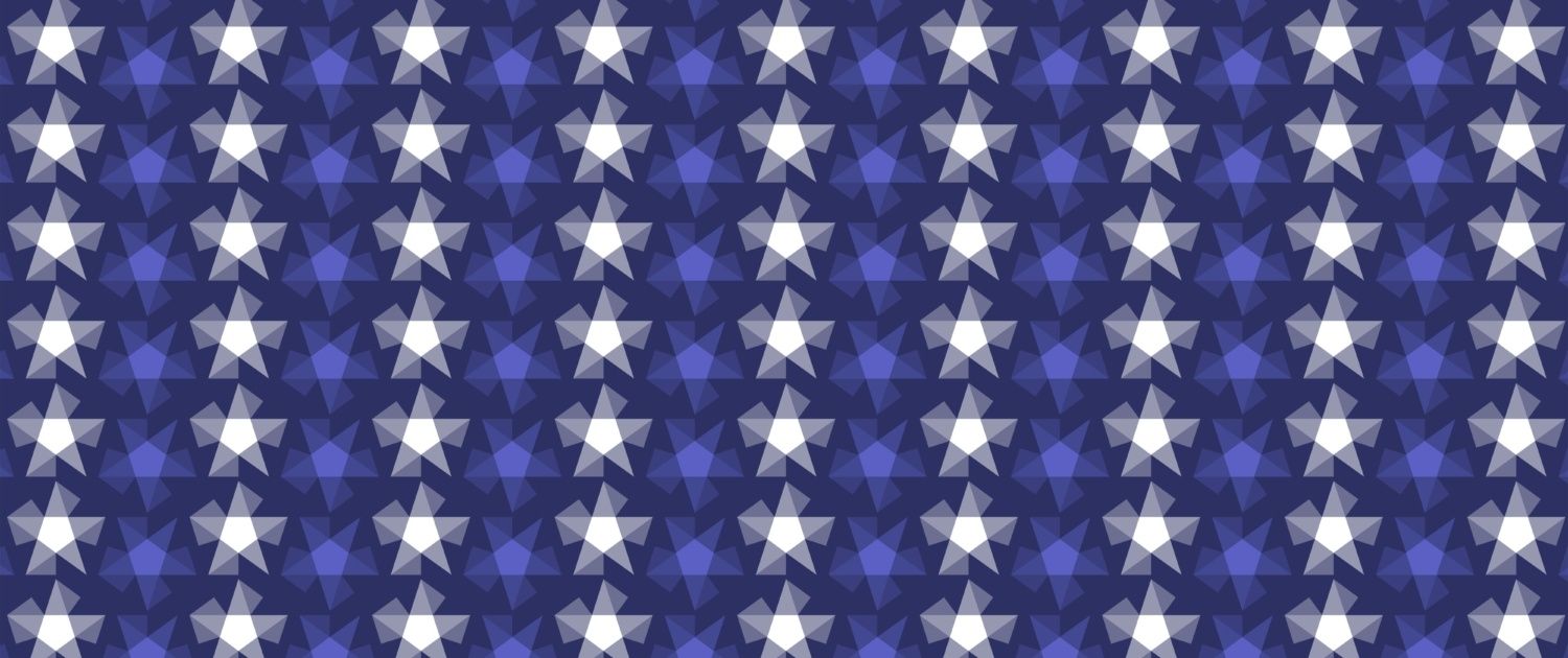 Stripy Stars Surface Pattern Design F 25