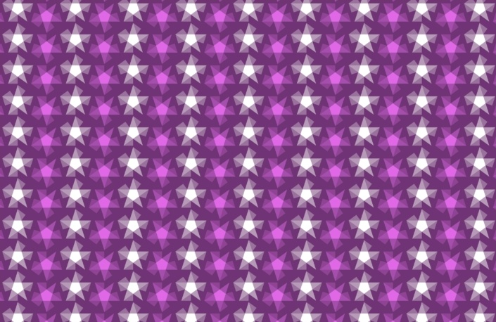 Stripy Stars Surface Pattern Design F 29
