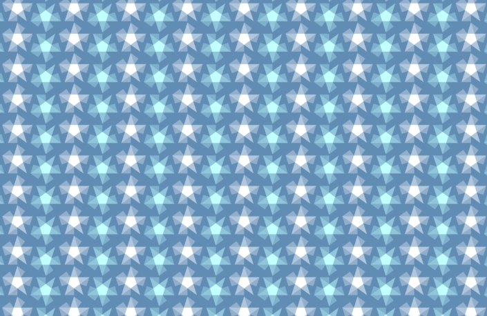 Stripy Stars Surface Pattern Design F 31