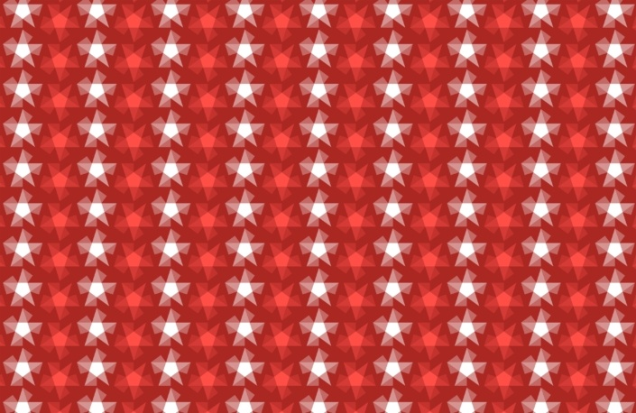 Stripy Stars Surface Pattern Design F 36