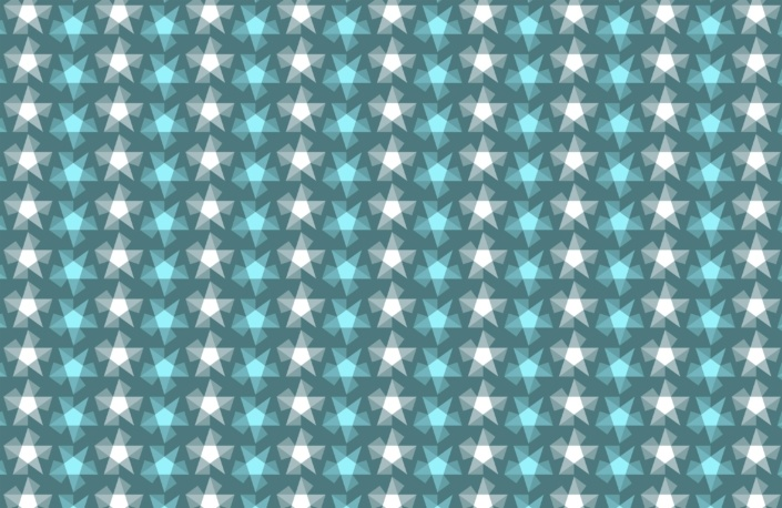 Stripy Stars Surface Pattern Design F 40