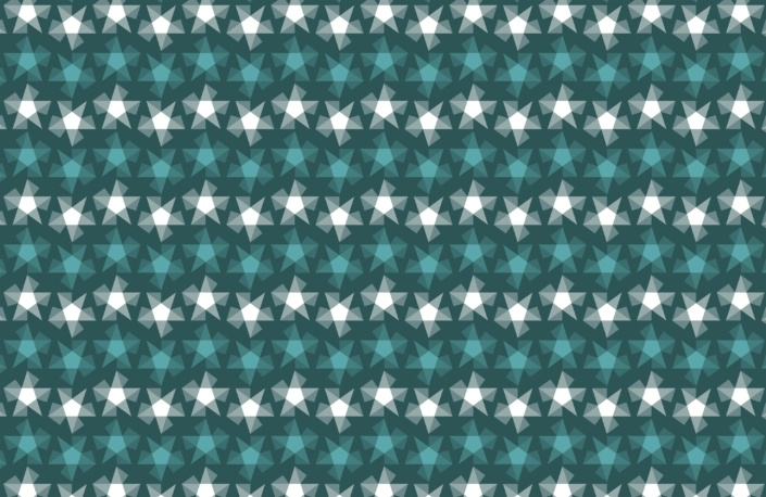 Stripy Stars Surface Pattern Design G 19