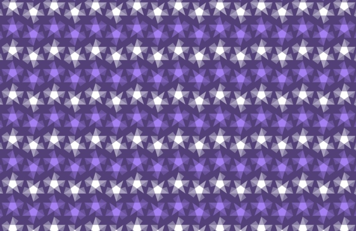 Stripy Stars Surface Pattern Design G 22